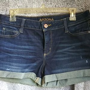 NWOT ARIZONA JEAN CO size 11 shorts